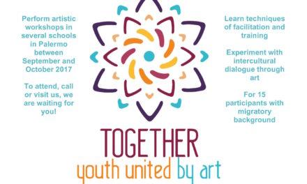TOGETHER – Giovani uniti dall'arte in partenza a maggio