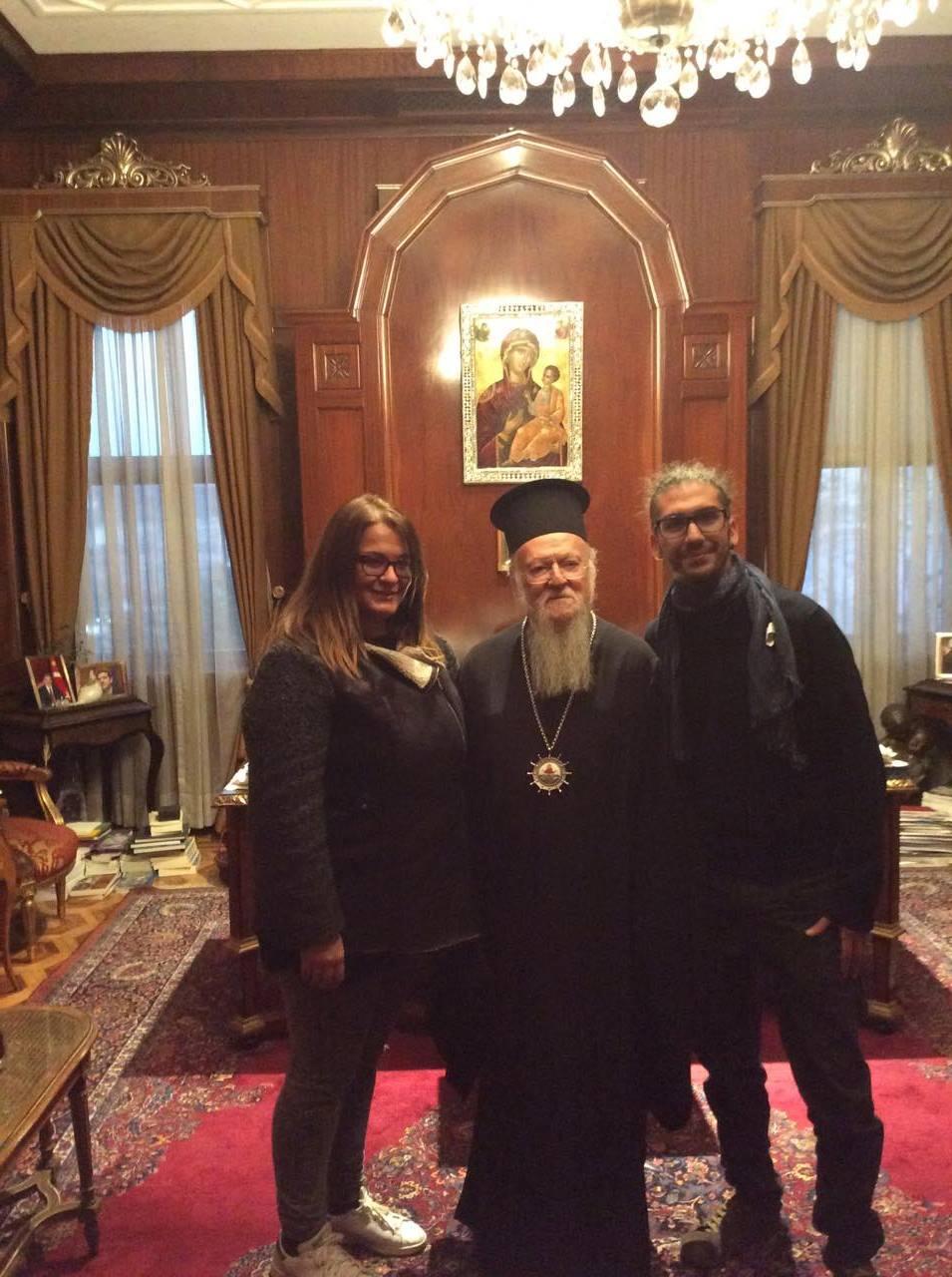 Una Delegazione CEIPES dal Patriarca di Costantinopoli Bartolomeo I