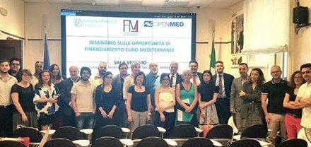 Seminario sulle opportunità di finanziamento  Euro-Mediterranee
