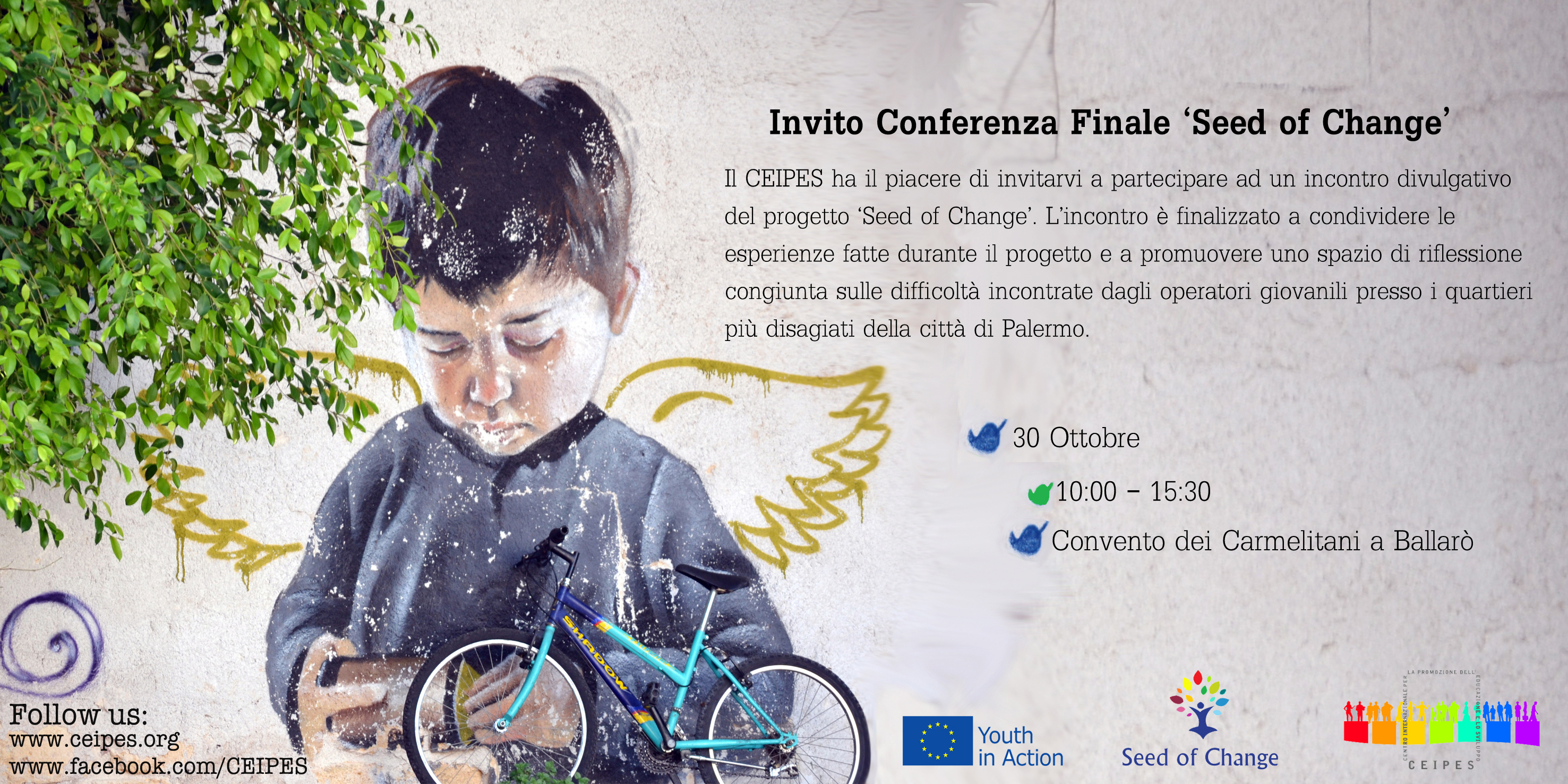Invito Conferenza Finale 'Seed of Change'