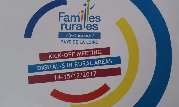 "Kick Off Meeting ad Angers (Francia) per il progetto ""Digital-S"""