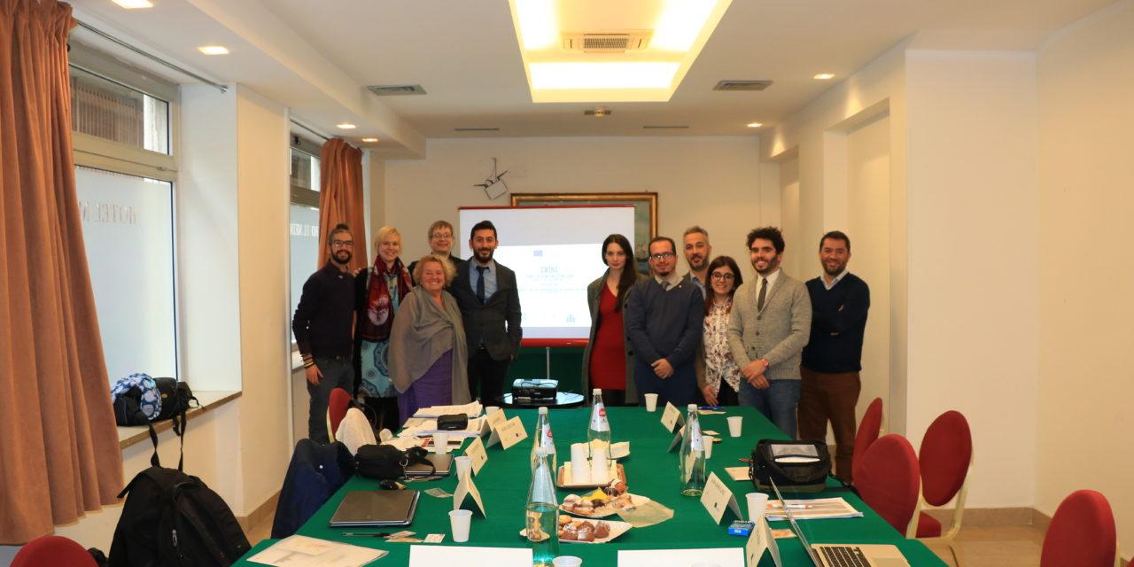 Kick Off Meeting a Palermo del Progetto SWING