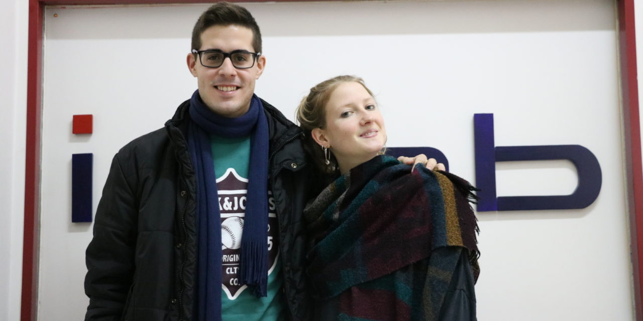 Myrto e Daniel, i nuovi tirocinanti al CEIPES