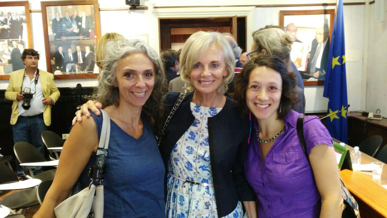 Incontro con Elisabeth Guigou, Presidente della Fondazione Anna Lindh