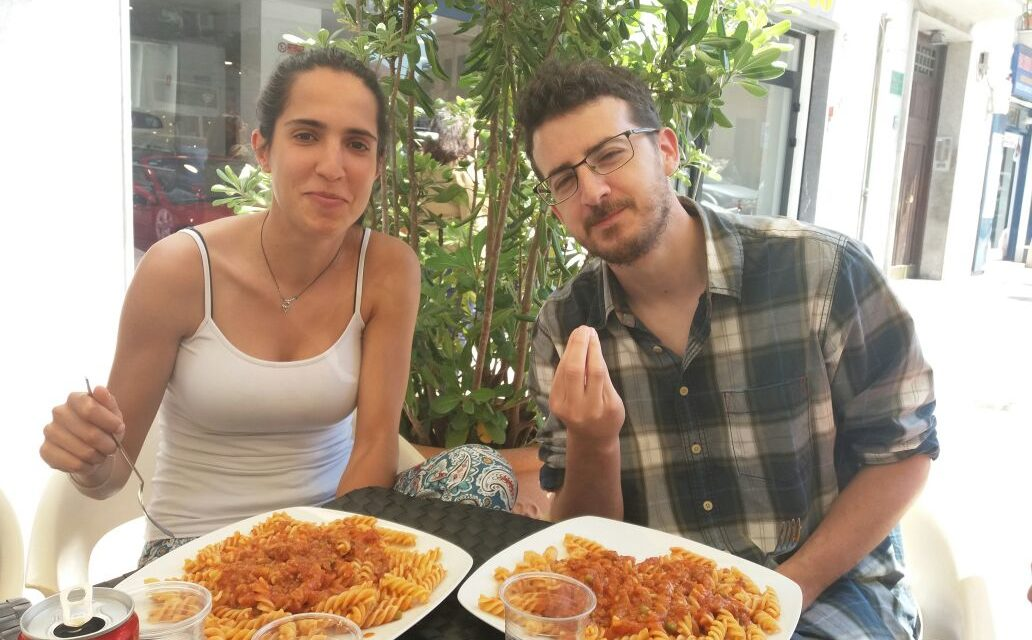 Jesús e Eva, i nostri volontari e la loro esperienza a Palermo