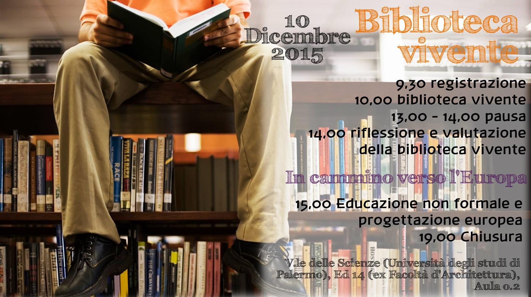 Palermo: la nuove edizione della Biblioteca Vivente