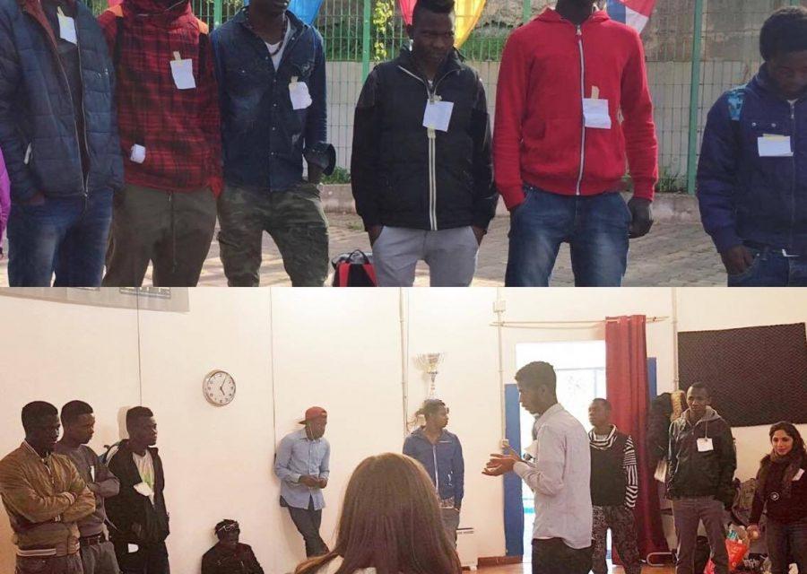 """Formazione di preparazione""""Centred By Sport"""": lo sport come strumento promotore dei valori a supporto dell'inclusione sociale dei giovani/Training phase for Centred by Sport"""