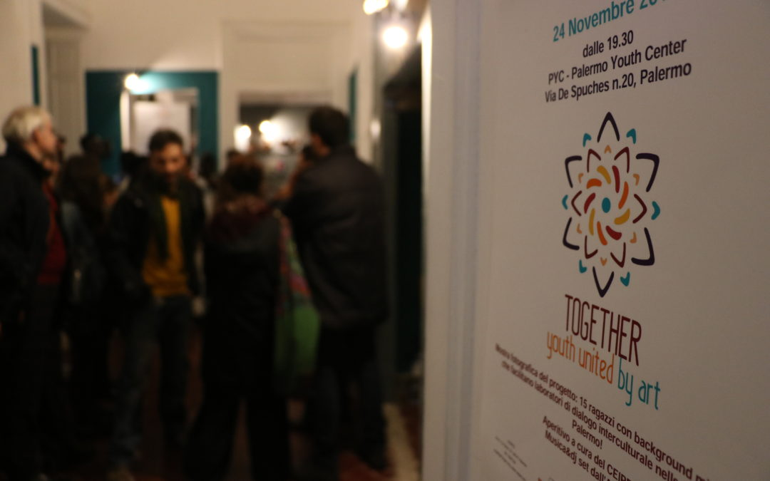 Together – United by art: Mostra al PYC fino al 3 dicembre [Photo & Video]