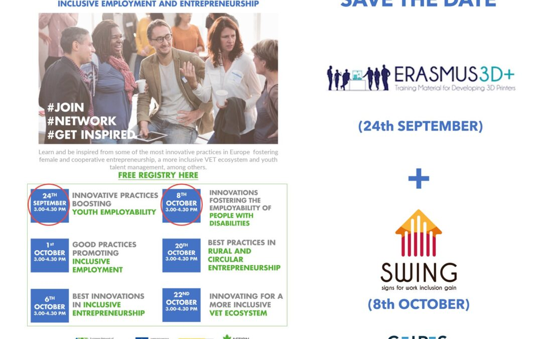 CEIPES mette in mostra le sue buone pratiche in occasione dei webinar dell'European Network of Innovation for inclusion