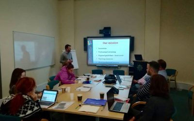 "KICK OFF MEETING ""EURIVERSITY"" IN CAMBRIDGE (UK)"
