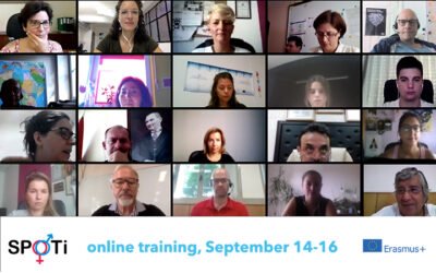 "First online training of the SPOTI – Putting the unheard gender in spotlight project about the ""social inclusion of disadvantaged social groups"""