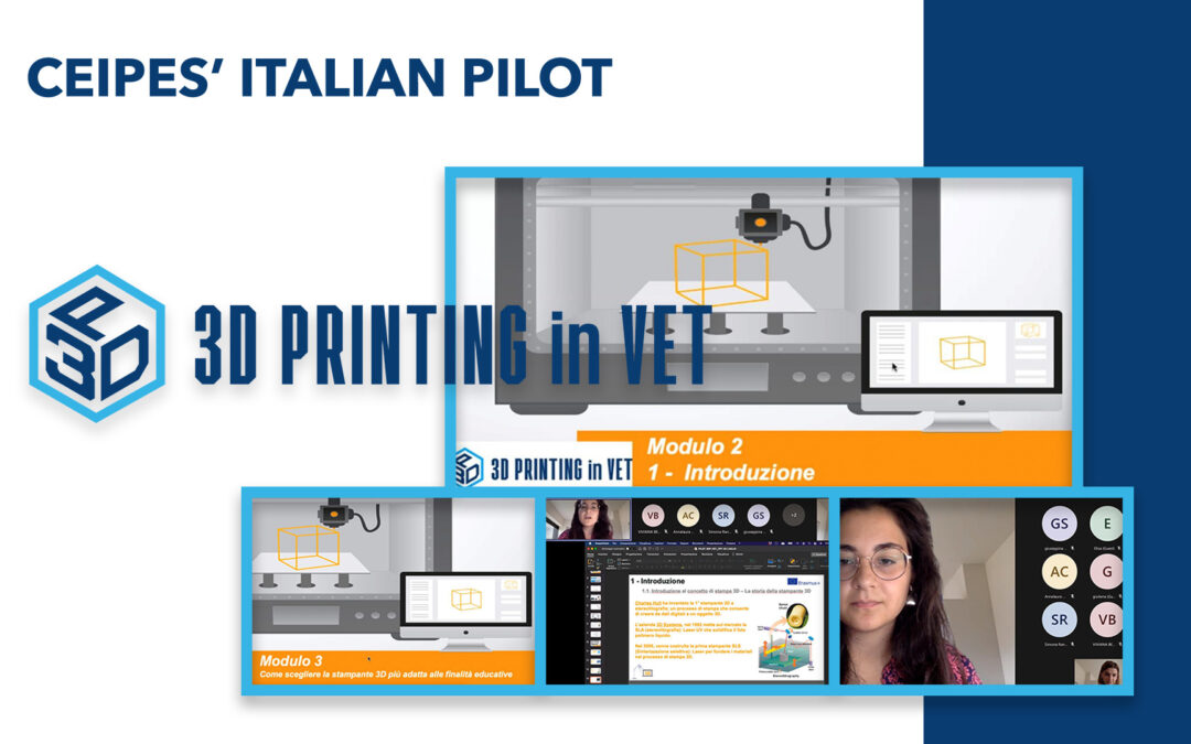 3DINVET- CEIPES Italian pilot has started!