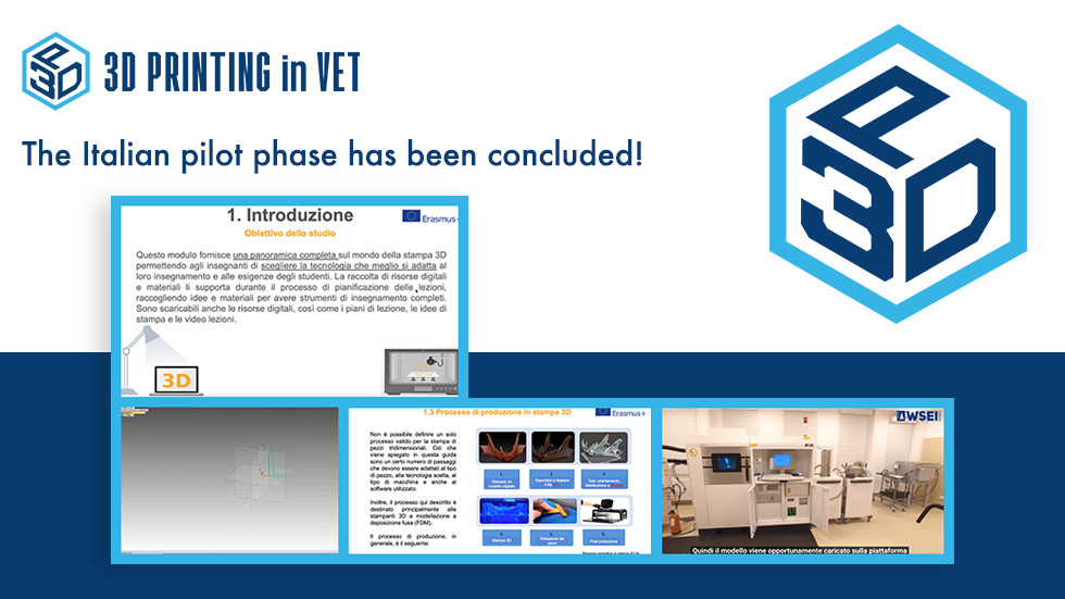 3DINVET – The Italian pilot phase has been concluded!