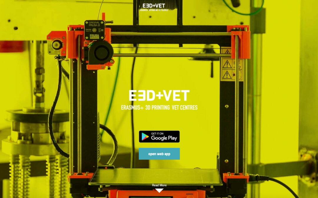 Il progetto E3D+VET nominato come ESEMPIO DI BUONA PRATICA!
