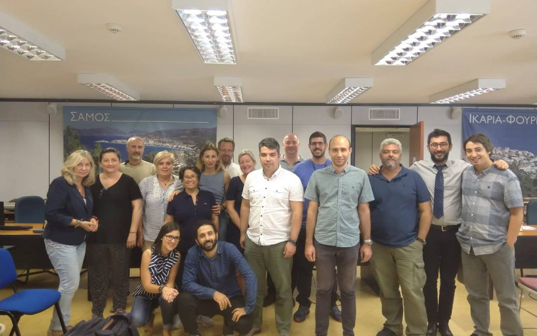 From Samos (Greece) the first Immijobs' Transnational meeting