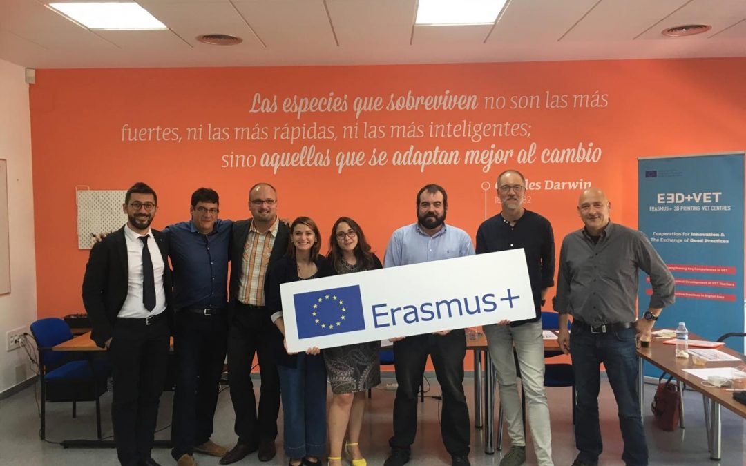 From Yecla, (Spain) the V Transnational Meeting for the E3D+VET project