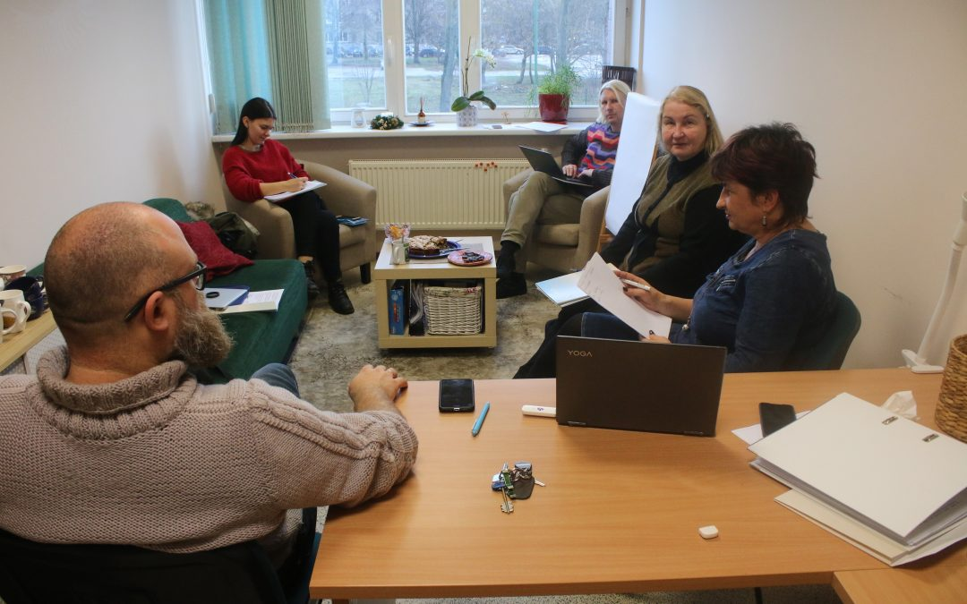 KURK – Interactive and creative learning of adults: exchange of good practices Kick Off Meeting in Klaipeda