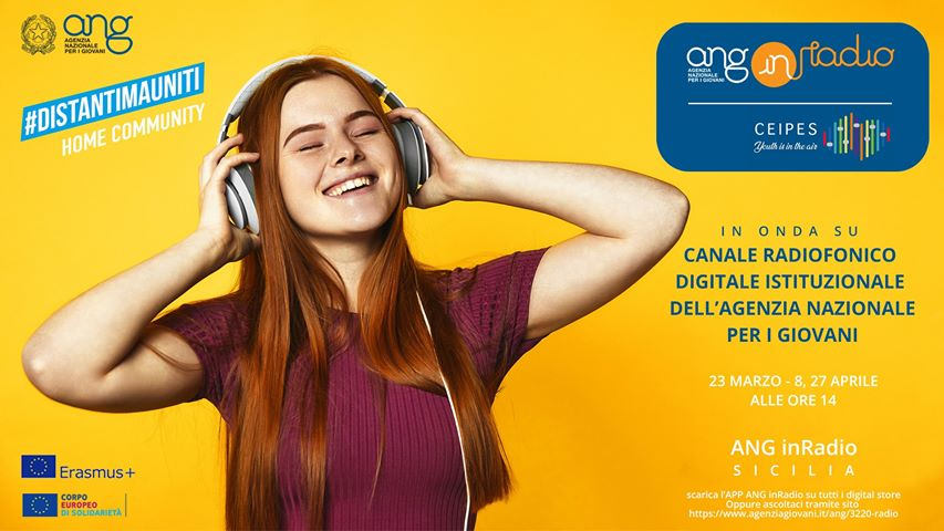 ANG inRadio CEIPES: a constant commitment, the press release from the italian National Youth Agency