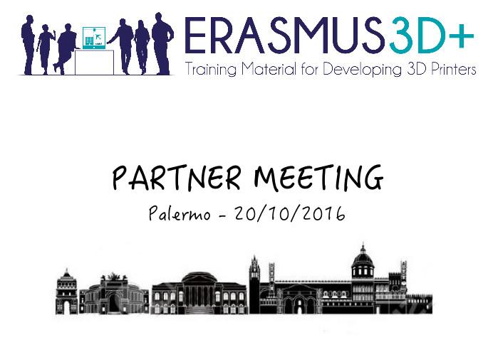 A Palermo il terzo meeting di E3D+