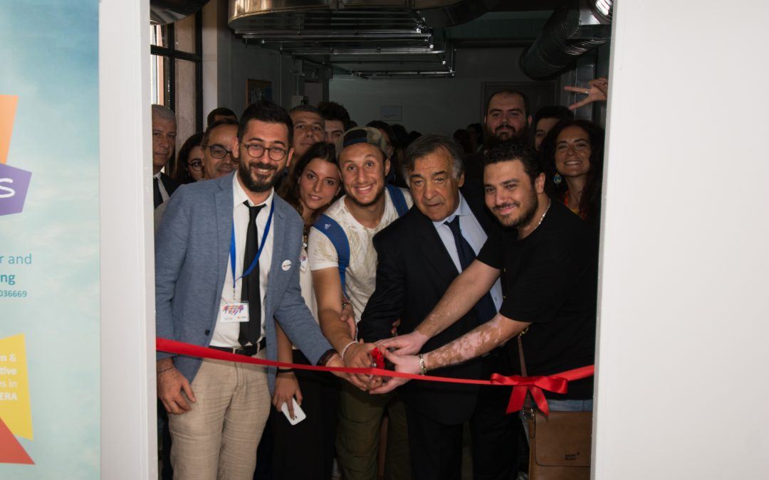 Inaugurazione del centro Rise – Lab! Alla presenza del Sindaco Orlando