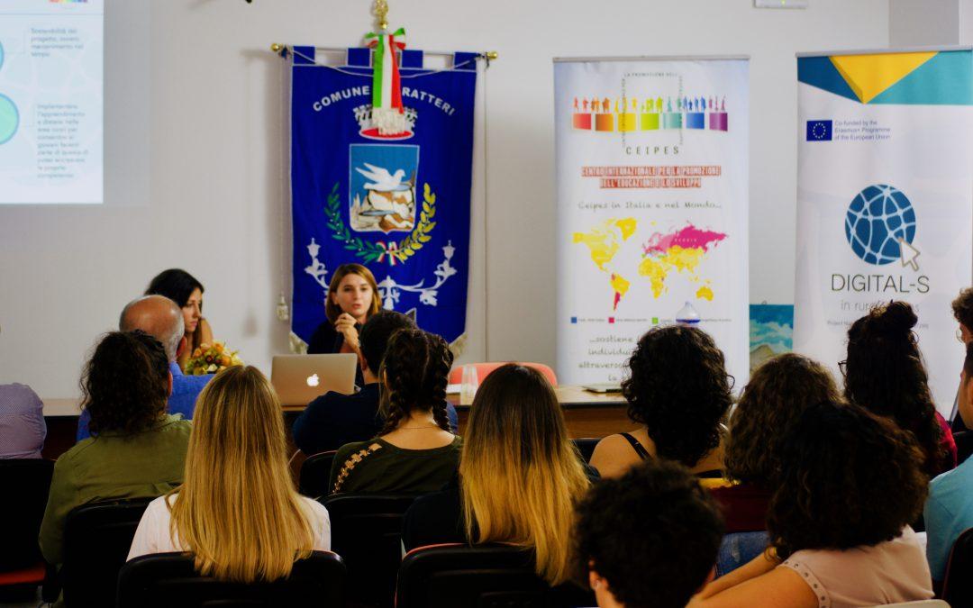L'evento moltiplicatore di Digital-s in Rural Areas a Gratteri, territorio Madonita
