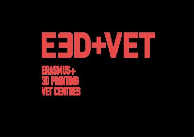 E3D+VET: ERASMUS+ FOR THE IMMERSION IN 3D PRINTING OF VET CENTRES