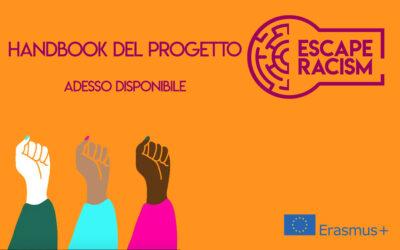 L'handbook del progetto Escape Racism, adesso disponibile!