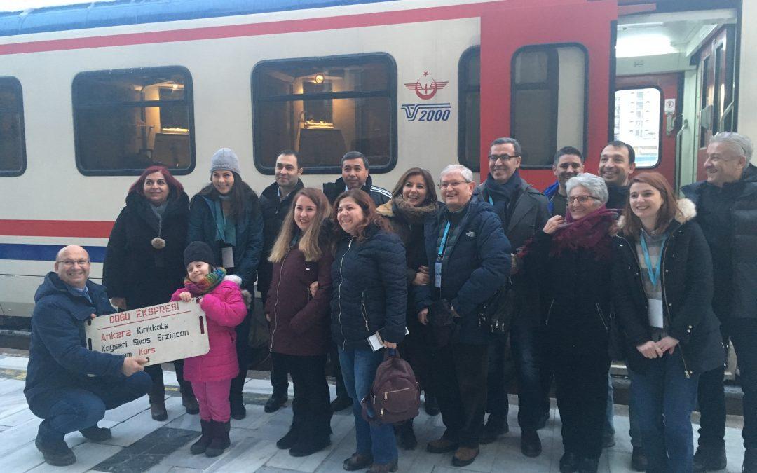 Il terzo meeting transnazionale del progetto DEM-RAIL-PSS sul Doğu Ekspresi