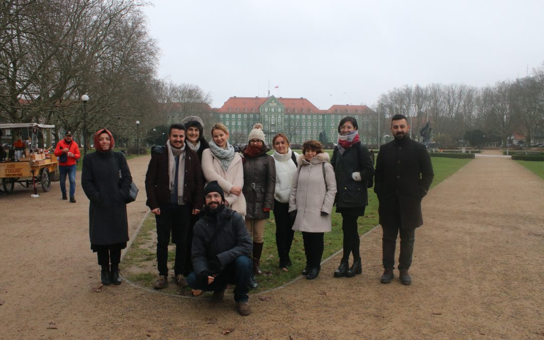 In Szczecin (Poland) for the Use or lose's Transnational Meeting
