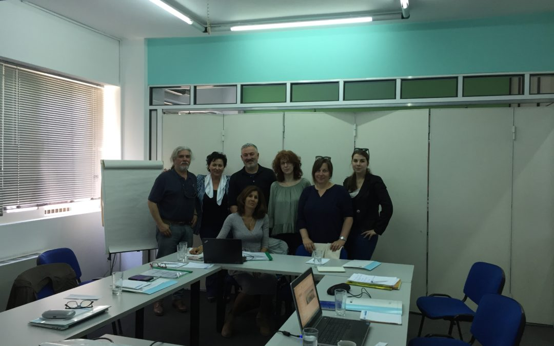 Project ITBL continues in Greece with second meeting!