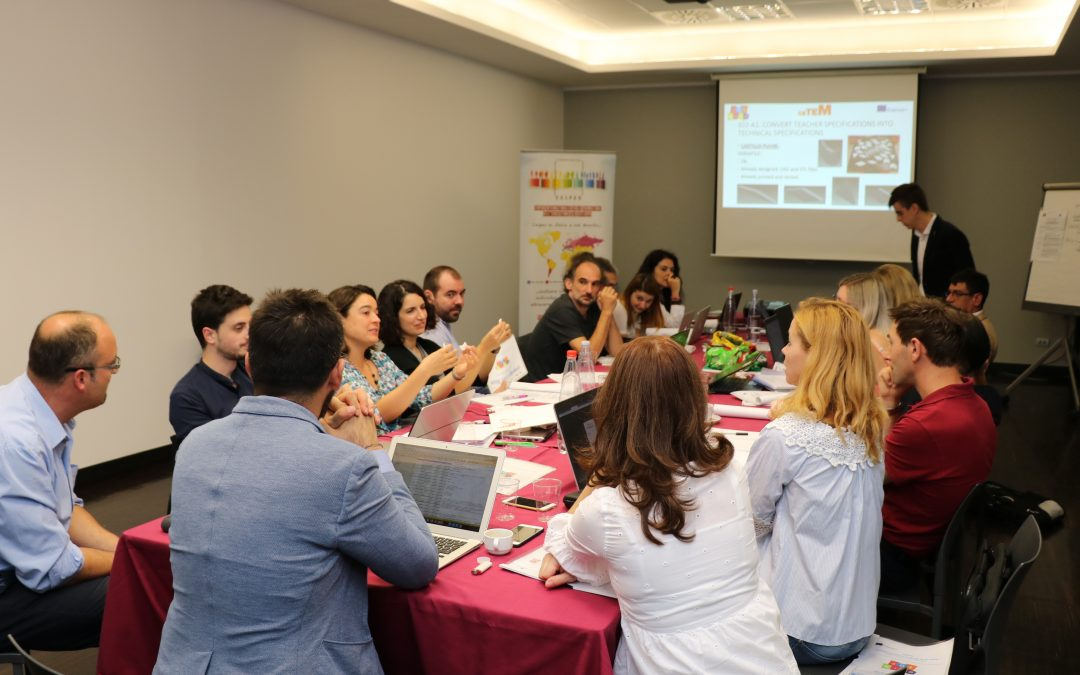 3D4KIDS project: In Palermo to discuss about the produced outputs and further steps