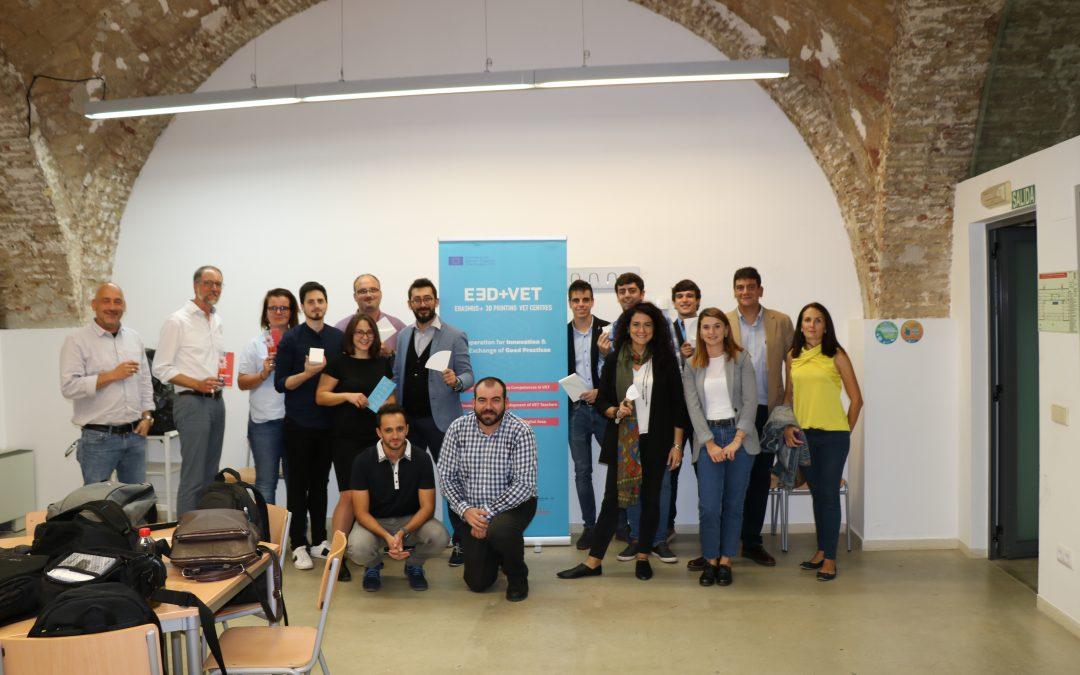 E3D+VET: in Spagna per incontrare i partner e discutere degli sviluppi del progetto
