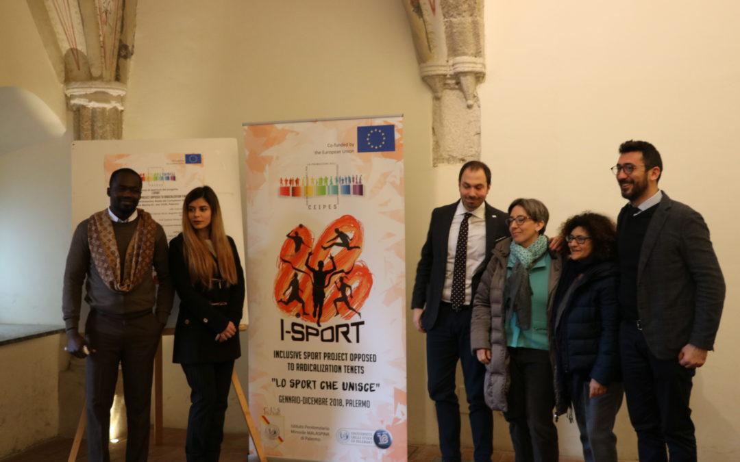 Conferenza di presentazione del progetto I Sport