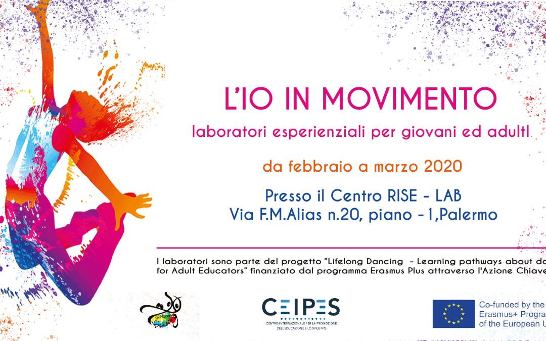 L'io in movimento – new workshops about dance and movement from February