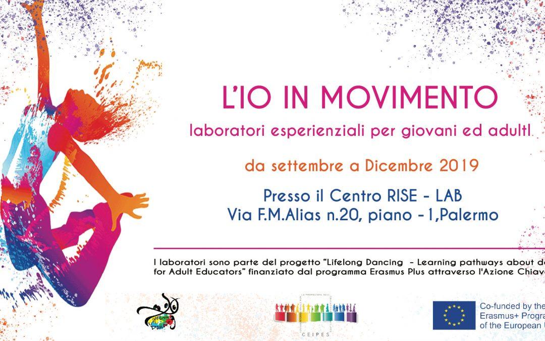 L'io in movimento – da settembre nuovi laboratori sulla danza ed il movimento