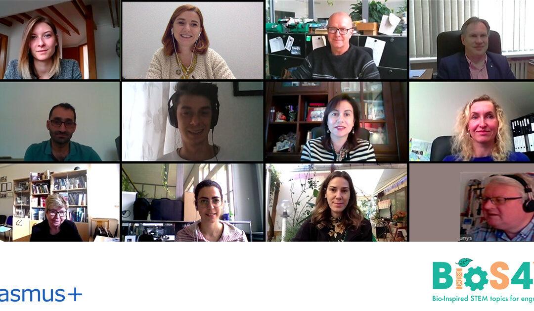 BIOS4YOU: il secondo Online Transnational Meeting del progetto