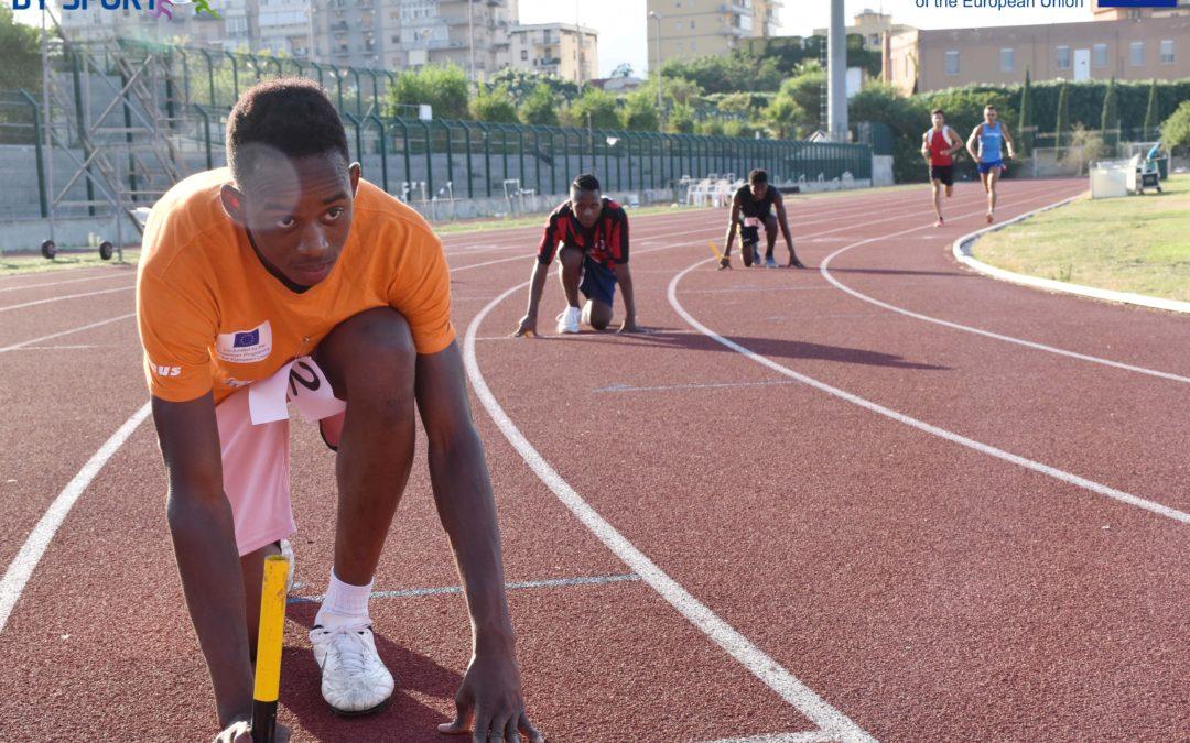 Centred by Sport – Atletica: corsia e campo tracciati!/Centred by sport – Athletics: lane and field are ready