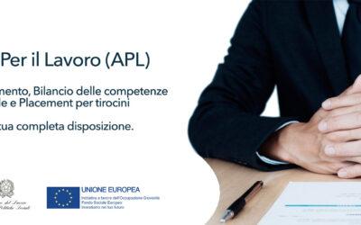 Il CEIPES è adesso un'Agenzia Per il Lavoro (APL) accreditata dalla Regione Sicilia