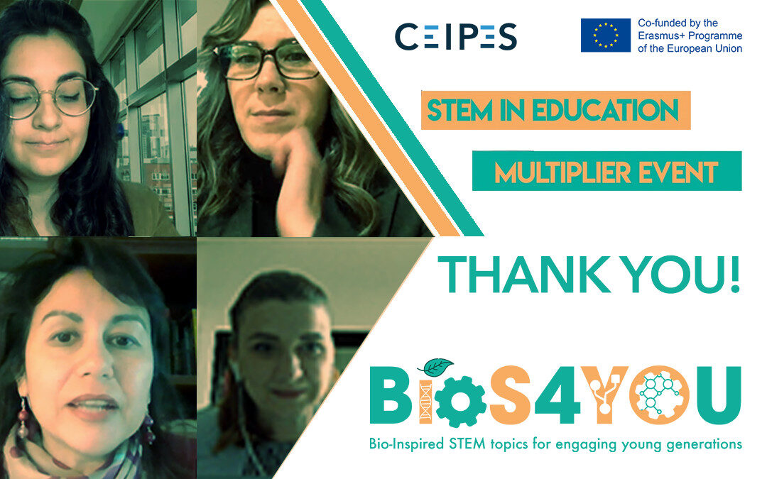 STEM IN EDUCATION – EVENTO MULTIPLIER Bios4You
