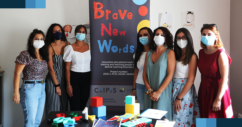BRAVE NEW WORDS – 2nd day of pilot to test the 3D printing exercises for people with SpLD