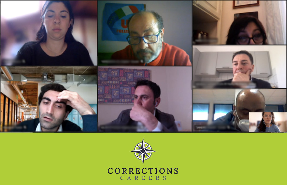CCJ4C Project – our focus group with correctional staff on April 13