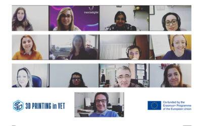 3D-VET: Last project meeting of 2020