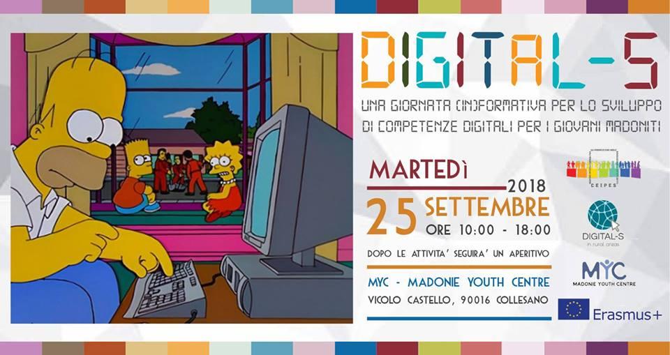 PROGETTO DIGITAL-S: Una giornata (in)formativa per lo sviluppo di competenze digitali per i giovani delle Madonie