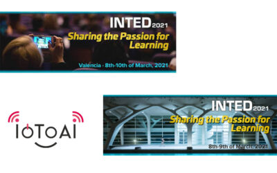 IoToAI project at INTED 21 – 15th annual Technology, Education and Development Conference