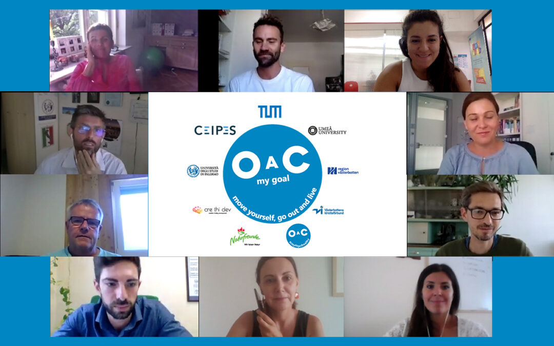 OAC: MY GOAL, THE 7TH TRANSNATIONAL MEETING OF THE ERASMUS+ SPORT PROJECT