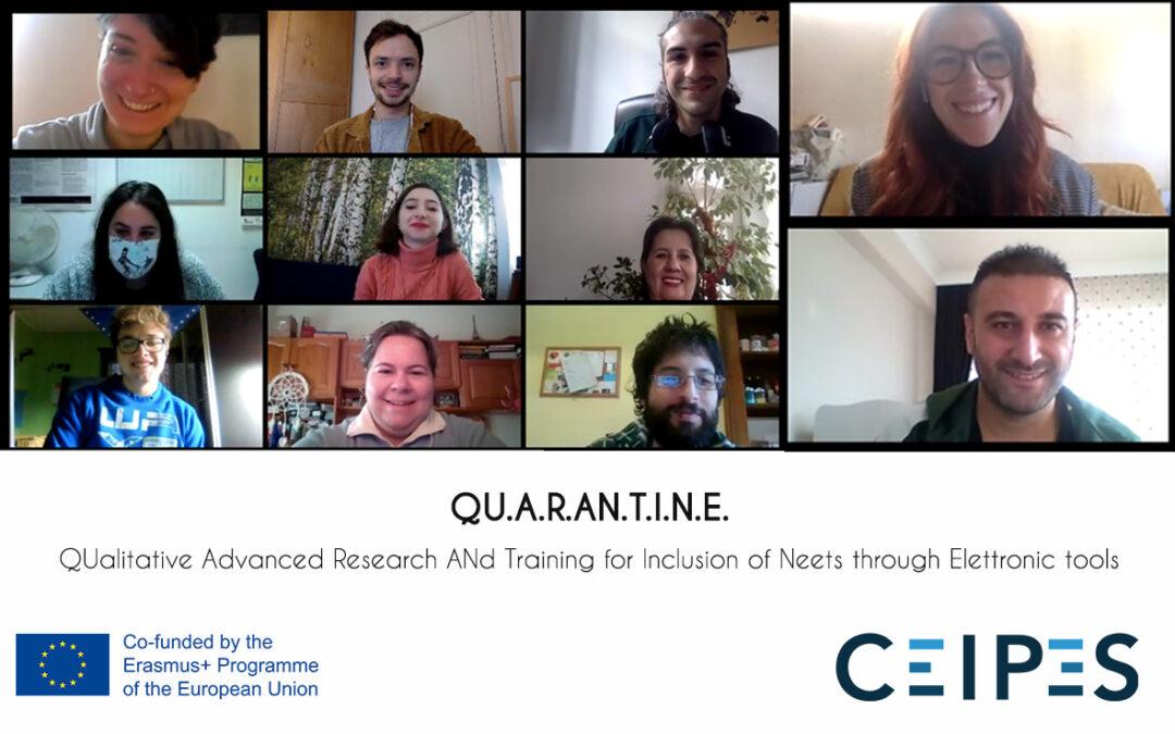 Le conseguenze del COVID-19:QU.A.R.AN.T.I.N.E. il nostro nuovo progetto è qui