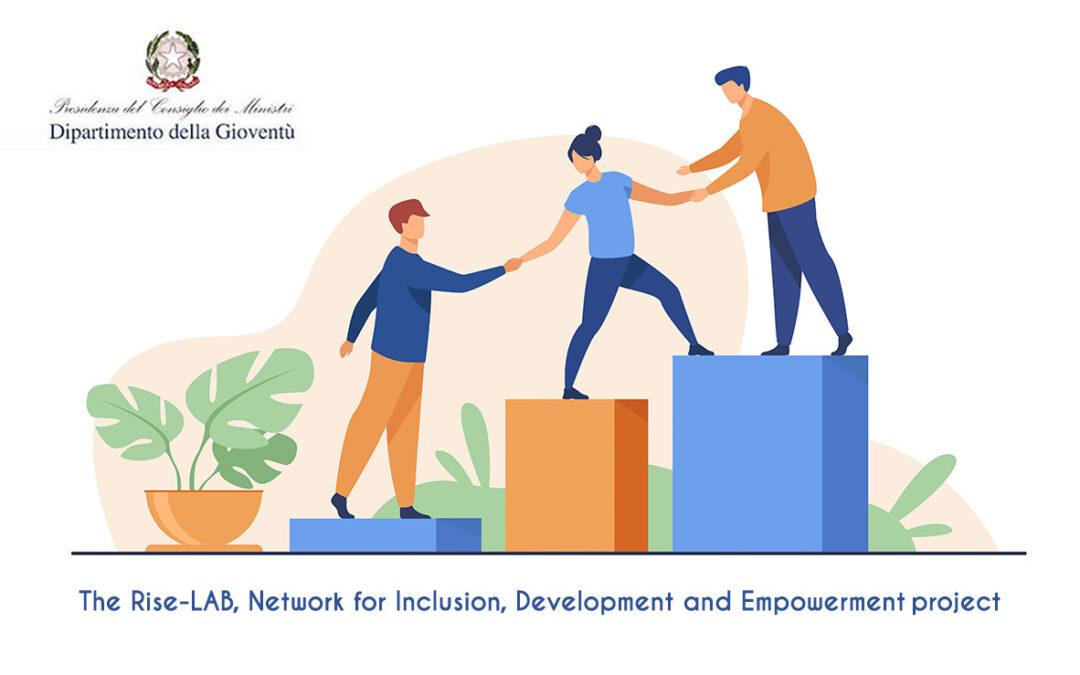 Il progetto Rise – Lab Rete per l'Inclusione, lo Sviluppo e l'Empowerment