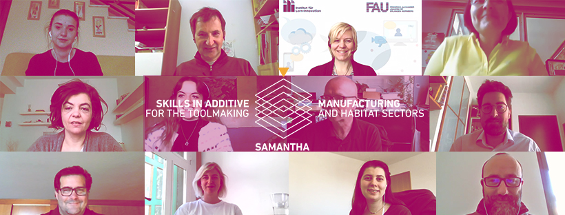2nd Transnational Meeting of SAMANTHA: Skills in Additive MANufacturing for the Toolmaking and HAbitat Sectors